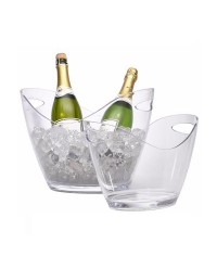 Clear Acrylic Champagne Bucket Large