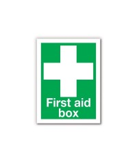 First Aid Adhesive Sign