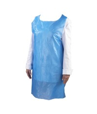 Blue Disposable Polyethene Apron