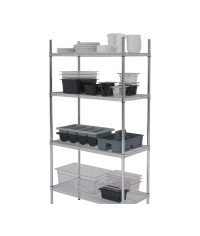 "Complete 4 Tier Racking Unit 18""/45cm deep"