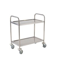 Flat-Packed Stainless Steel Trolleys