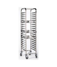 Stainless Steel Gastronorm 1/1 Trolley