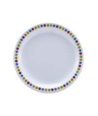 Melamine Plates- Coloured Circles