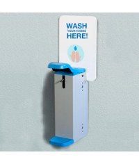 Painted Steel Wall Mounted Hand Sanitisers Dispenser