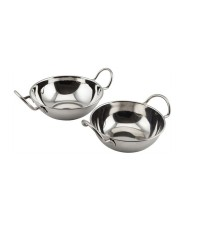 Stainless Steel Balti Dishes With Handles