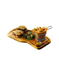 Olive Serving Board Square 40x21 With Grove