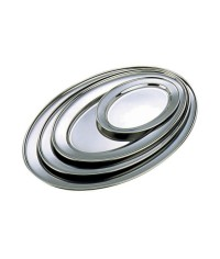 Stainless Steel Oval Meat Flats