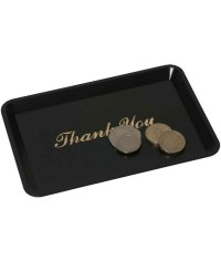 Black 'Thank You' Tips Tray