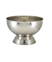 Hammered Champagne Bowl