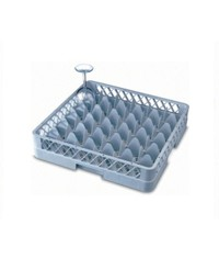 36-Compartment Glass Rack
